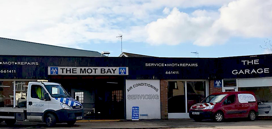 Front of Tha Garage March - MOT and Car Servicing Fenland